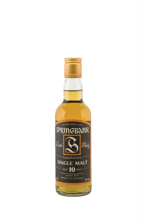 Springbank Single Malt Aged 10 Years 46% 0.35L