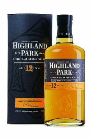 Highland Queen Blended Scotch Whisky 12 Years Old 40% 0.75L