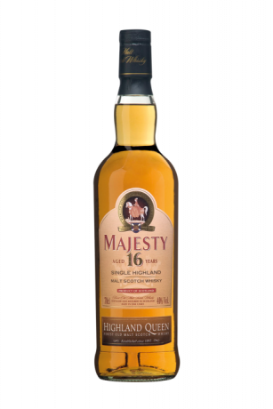 Highland Queen Majesty 16 Years Old Highland Single Malt Scotch Whisk 40% 0.7L