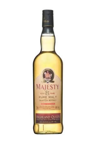Highland Queen Majesty 8 Years Old Highland Single Malt Scotch Whisky 40% 0.7L